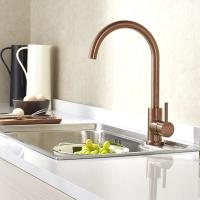 Buy cheap PVD coating copper color surface Kitchen water faucet for sink stainless steel faucet product