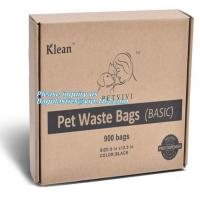 China Doggy Poo Bags Compostable Doggie Dog Poop Bags Custom Printed, Disposable Compostable Doggie Biodegradable Pet Dog Wast on sale