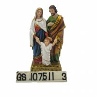 Buy cheap Holy Family Scene with Light up Star the birth of jesus statue product
