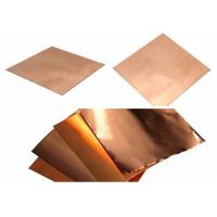 Buy cheap Shield Copper Foil Sheet  0.15mm - 8mm Thickness product