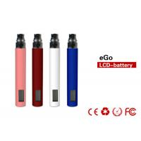Buy cheap 1100mah 4.2V E Cig Batteries 800 puffs With LCD Screen Display from wholesalers