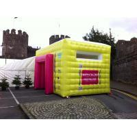 China Colorful Mini Inflatable Advertising Tent With High Temperature Resistance wholesale