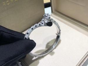 Buy cheap Cartierjewelry 18k white gold Panthere de Cartier bracelet custom made jewelry product