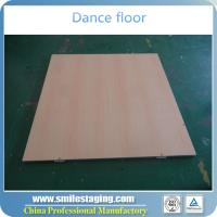 Buy cheap Wooden dance flooring cheap dance floor for sale dance floor removable product