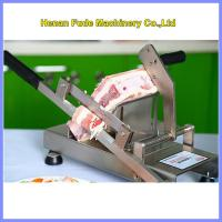 Buy cheap manual meat slicer, hot-pot restaurant frozen meat slicer, beef slicing machine product
