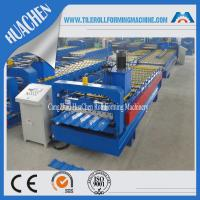Buy cheap Hydraulic Roofing Sheet Roll Forming Machine , Sheet Metal Roll Former Machinery from wholesalers