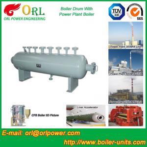 Buy cheap Mining Industry Electrical Water Boiler Mud Drum ISO9001 ASME / EN Passed product