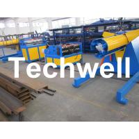 Buy cheap Carbon steel, GI Economical Simple Type Slitting Machine With 30KW, 30m/min Speed product