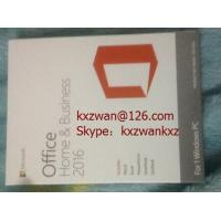 Buy cheap Microsoft Office 2016 H&B PKC with new Retail FPP Keys 100% online active key product