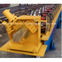 Buy cheap Half-round Seamless Gutter Roll Forming Machine High Speed Chain Transmission 16 Stations product