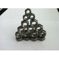 Buy cheap DIN934 Hex Head Carbon Steel Nuts / Hexagon Weld Nuts For High Speed Railways product