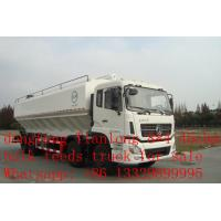 China Dongfeng tianlong 8*4 45cbm bulk feed transportation truck for sale on sale
