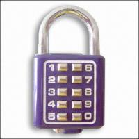 Buy cheap Digital Padlock (With 10 Digits) for Home Security product