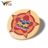 Custom Cute Pocket Enamel Lapel Pin Badges , Butterfly Suit Pin Badge for sale