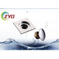 Quality SS Bathroom Floor Drain Polished Surface Treatment Anti Return Water for sale