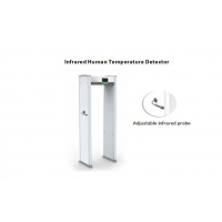 Buy cheap 30cm IP55 LCD Infrared Human Temperature Detector from wholesalers