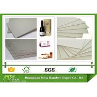 Buy cheap Eco-friendly Stiffness Thicker Grey Straw Board Paper Standard size 889mmx1194mm product