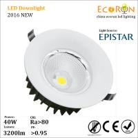 China ra80 epistar cob 10w 20w 30w 40w led downlight 3000k led light downlight dimmable on sale