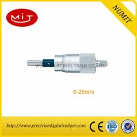 Buy cheap CNC Machining Spherical Digital Outside Micrometer Head 0-25 mm With Scribed Line/Calibration of Micrometer product