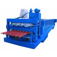 Buy cheap PPGI Sheet Cold Roll Forming Equipment Japan Panasonic PLC Controller High Efficiency product