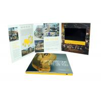 Buy cheap Rechargeable lcd video greeting card , 7 inch / 10 inch lcd brochures from wholesalers