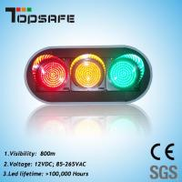"""Buy cheap 200mm (8"""") LED Traffic Signal with 3 Full Balls (TP-JD200-3-203) product"""