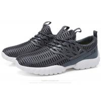 Buy cheap Lace Up Mesh Fabric Comfortable Athletic Shoes Male Lightweight Breathable Sneakers product