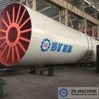 China 4.3X70m Calcination Rotary Kiln For Cement Plant High Heat Utilization Ratio on sale