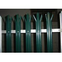 Buy cheap Anti Climb Security Palisade Fencing Gates For Lawns / Villas , Metal Picket Fence Panels product