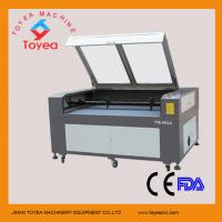 China Dual heads CO2 Laser Cutting machine for acrylic TYE-1612-2 on sale