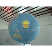Buy cheap Professional Inflatable Earth Balloons Globe for Outdoor Advertising,Advertisement Balloon product