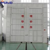 Buy cheap Large Scale Industrial Sand Blasting Room Flexible Layout For Locomotive Industry product