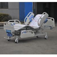 Luxury Manual Hospital Bed , Multifunction Intensive Care Bed With CPR