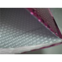 China Waterproof Pink Poly Bubble Mailers For Online Shopping Store 165x255 #B6 on sale