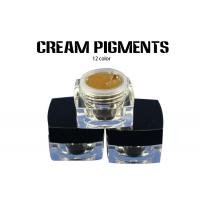 China OEM Cream Semi Permanent Microblading Pigment 100% Pure Plant wholesale