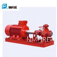 Buy cheap Ul Listed End Suction Pump , Fire Pump 100 Gpm@75psi 50hz Motor Driver product