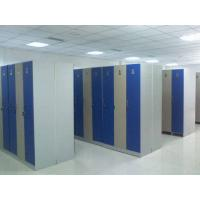 Buy cheap Single Tier Lockers PVC Material , Gray Cabinet Commercial Gym Lockers product