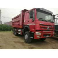 Buy cheap Industrial Dump Truck Heavy Duty / Sand Dump Truck With 12.00R20 Tyres product