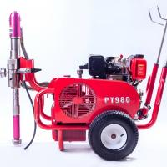 Diesel Engine Electric Paint Sprayer Airless Sprayer Piston Pump 250 Bar 13.5 Lpm