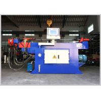 Buy cheap Multi Function Muffler Pipe Bending Machine , PLC Control Muffler Pipe Bender product