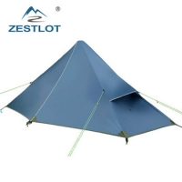China 1 Person 3 Season 20D Nylon Ultralight Backpacking Tent For Camping Hiking Climbing on sale