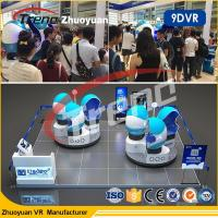 Buy cheap Attractive 360 Degree Theme Park  9D VR Simulator With HD 1080P Glasses product