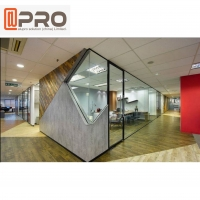 Buy cheap Aluminium Frosted Glass Office Partition Board Etched Glass Office Partition product