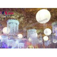 Quality Wedding decoration inflatable led balloon with led light hanging Ball with inside blower from china manufacture for sale