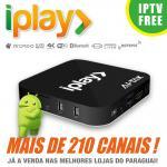 Buy cheap HDMI 2.0 Brazilian IPTV Box Brasil , Iplay Portuguese TV Box No Time Limited product