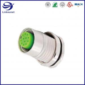 China M12 IP67 Waterproof Circular Connectors For Industrial Automation on sale