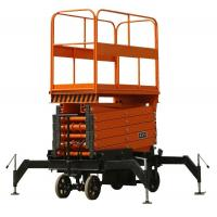 Buy cheap CE diesel hydraulic lifting platform for 2T load capacity with stretchable table product
