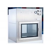Buy cheap Dynamic Cleanroom Pass Through Box With Electromagnetic Interlock product
