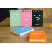 Buy cheap wholesale customize mini sticky spiral note pad with hard cover product