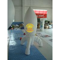 Buy cheap Durable High quality 0.28mm PVC Advertising Customized Rocket Shaped Balloons for Opening Event PRO-10 product